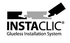 Instaclic Glueless Installation System logo